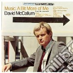 Music: a bit more of me cd musicale di David Mccallum