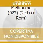 MELBOURNE (022) (2CD+CD ROM) cd musicale di SEAMAN DAVE