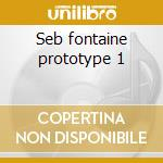 Seb fontaine prototype 1 cd musicale di Globalunderground