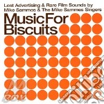 Music For Biscuits cd musicale di MIKE SAMMES & THE MI