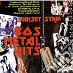 Sunset strip 80s metal cd musicale di Artisti Vari