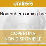 NOVEMBER-COMING-FIRE cd musicale di SAMHAIN