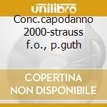 Conc.capodanno 2000-strauss f.o., p.guth cd musicale di J. Strauss