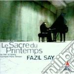 Le sacre du printemps (vers. piano 4 man cd musicale di Say Stravinsky\fazil