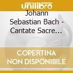 Bach: cantate sacre vol. 59 bwv 196 & 19 cd musicale di Johann Sebastian Bach