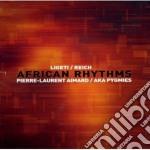 Ritmi africani - studi 16 17 18 - clappi cd musicale di VARI - LIGETI - REIC