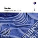Apex: sinfonie nn 2 & 5 cd musicale di Sibelius\saraste