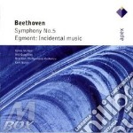 Beethoven - Masur - Mcnair - Apex: Sinfonia N. 5 & Egmont: Incidental Music cd musicale di Beethoven\masur - mc