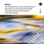 Apex: 4 sea interludi da peter grimes e cd musicale di Britten\davis