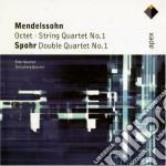 Apex: ottetto e quartetti per archi n.1 cd musicale di Mendelssohn - spohr\