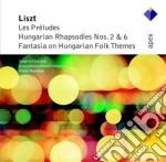 Apex: rapsodie ungheresi 2 & 6 - preludi cd musicale di Liszt\stockigt - neu