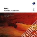 Apex: sinfonia/eindrucke cd musicale di Berio\boulez - new s