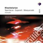 Apex: spartacus - gayaneh - masquerade cd musicale di Khachaturian\lazarev
