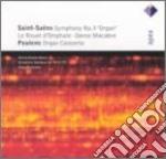 Apex: concerto per organo-sinfonia n.3 cd musicale di Poulenc - saint saen