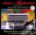 Spirit of woodstock cd musicale di Professor louie & th