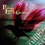 Wings on fire cd musicale di Professor louie & th