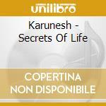 Karunesh - Secrets Of Life cd musicale di KARUNESH