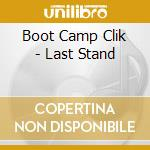 The last stand cd musicale di Boot camp click