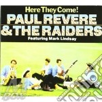 Revere Paul & The Raiders - Here They Come / Midnight Ride cd musicale di Paul & raide Revere