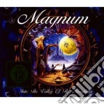 INTO THE VALLEY OF THE MOONKING CD+DVD    cd musicale di MAGNUM