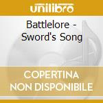 SWORD'S SONG                              cd musicale di BATTLELORE
