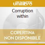 Corruption within cd musicale