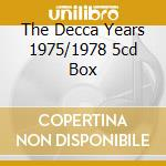 THE DECCA YEARS 1975/1978 5CD BOX cd musicale di KAIPA