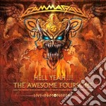 HELL YEAH - THE AWESOME FOURSOME cd musicale di GAMMARAY