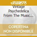 VINTAGE PSYCHEDELIA FROM THE MUSIC CITY cd musicale di ARTISTI VARI