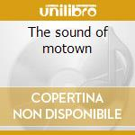 The sound of motown cd musicale di Jive bunny and the mastermixer