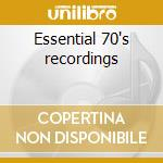 Essential 70's recordings cd musicale di Band Fatback