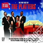 The very best of the platters cd musicale di Platters The
