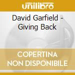 Giving back cd musicale di David Garfield