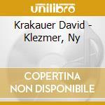Krakauer David - Klezmer, Ny cd musicale di David Krakauer