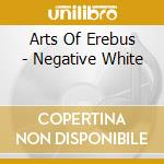 Negative white cd musicale