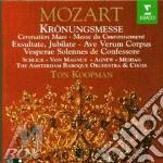 MESSA D'INCORONAZIONE cd musicale di KOOPMAN-MOZART\KOOPM