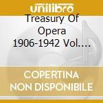Treasury of opera cd musicale di Artisti Vari