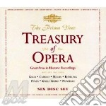Treasury of opera cd musicale di Artisti Vari