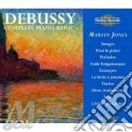 Martin jones/ piano music cd musicale di Claude Debussy