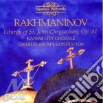 Liturgy st. john chrysostom cd musicale di Sergei Rachmaninoff