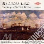 Bretan Nicolae - Konya Ludovic - Weiss Ferdinand - My Lieder-land - The Songs Of Nicolae Bretan cd musicale di Artisti Vari