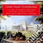 Great haydn symphonies cd musicale di Haydn franz joseph