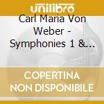 Horn concertino, overtures cd musicale di Weber carl maria von