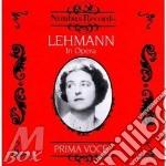 Lehmann on opera v.1 cd musicale di Artisti Vari