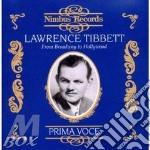 Lawrence tibbett cd musicale di Artisti Vari