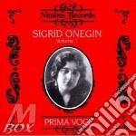 Sigrid onegin cd musicale di Artisti Vari