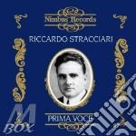PRIMA VOCE cd musicale di STRACCIARI RICCARDO