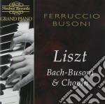 Ferruccio busoni grand piano cd musicale di Artisti Vari