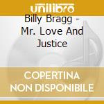 MR LOVE & JUSTICE cd musicale di Billy Bragg