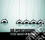 So percussion - it is time cd musicale di Miscellanee